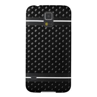 """Coque pour Samsung Galaxy S5 """"Noire Élégance"""""""