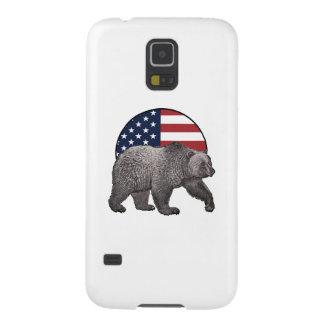 Coque Pour Samsung Galaxy S5 Ours gris américain