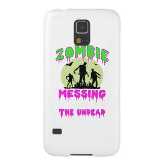 Coque Pour Samsung Galaxy S5 Pièce en t de Halloween de zombi