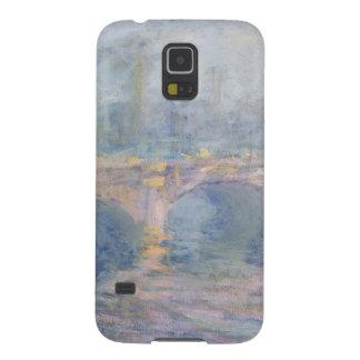Coque Pour Samsung Galaxy S5 Pont de Claude Monet | Waterloo, Londres, au