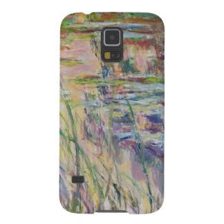 Coque Pour Samsung Galaxy S5 Réflexions de Claude Monet | sur l'eau, 1917