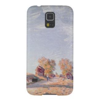 Coque Pour Samsung Galaxy S5 Route ascendante d'Alfred Sisley | en soleil