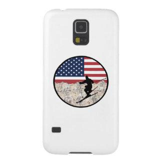 Coque Pour Samsung Galaxy S5 Ski Amérique