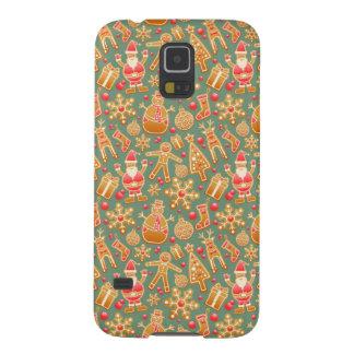 Coque Pour Samsung Galaxy S5 Symboles heureux de Noël