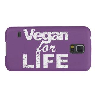 Coque Pour Samsung Galaxy S5 Végétalien pendant la VIE (blanche)