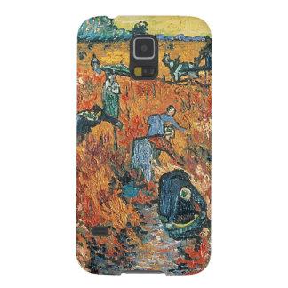 Coque Pour Samsung Galaxy S5 Vignobles de rouge de Vincent van Gogh | chez