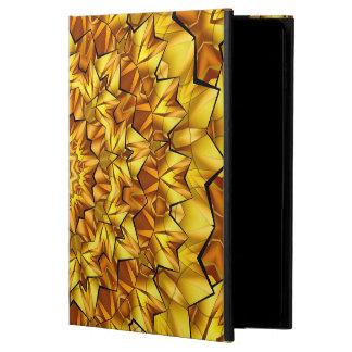 Coque Powis iPad Air 2 Art abstrait Brown rayonnant l'étoile
