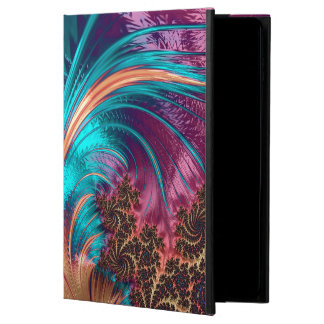 Coque Powis iPad Air 2 Belle conception de plume de fractale