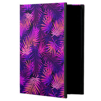 Coque Powis iPad Air 2 Caisse tropicale pourpre rose de l'air 2 d'iPad de