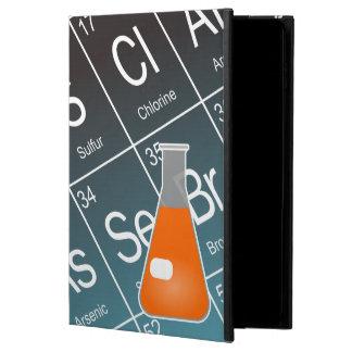 Coque Powis iPad Air 2 Chimie (conique) orange de flacon d'Erlenmeyer