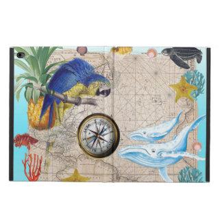 Coque Powis iPad Air 2 Collage bleu tropical