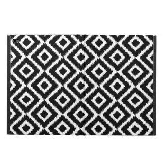 Coque Powis iPad Air 2 Diamants noirs et blancs d'Ikat