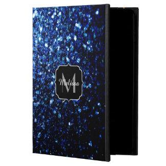 Coque Powis iPad Air 2 Le beau scintillement bleu-foncé miroite