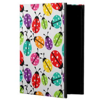 Coque Powis iPad Air 2 Madame mignonne colorée Bug Seamless Pattern