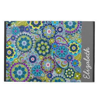 Coque Powis iPad Air 2 Motif floral génial avec le nom