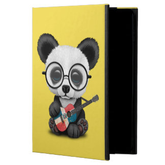 Coque Powis iPad Air 2 Panda de bébé jouant la guitare dominicaine de