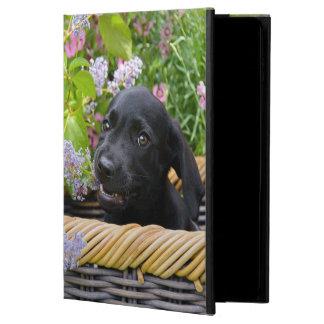 Coque Powis iPad Air 2 Photo noire mignonne de chiot de chien de labrador