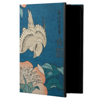 Coque Powis iPad Air 2 Pivoines de Hokusai et GalleryHD vintage jaune