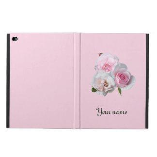 Coque Powis iPad Air 2 Trois roses roses. Ajoutez votre texte
