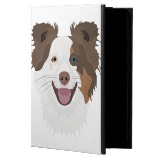 Coque Powis iPad Air 2 Visage heureux border collie de chiens
