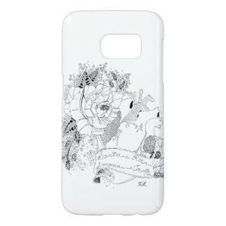 Coque Samsung Galaxy S7 Amour de Sonoma (B&W)