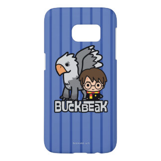 Coque Samsung Galaxy S7 Bande dessinée Harry Potter et Buckbeak