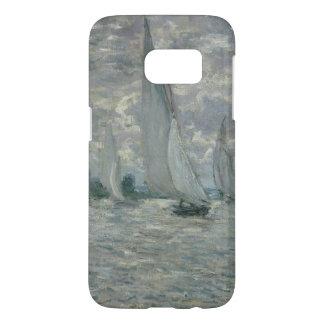 Coque Samsung Galaxy S7 Bateaux de Claude Monet |, ou régate à Argenteuil