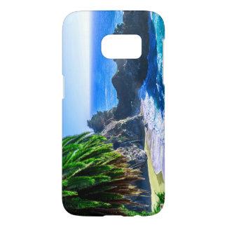 Coque Samsung Galaxy S7 Belle plage tropicale d'île