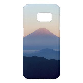 Coque Samsung Galaxy S7 Belle vue le mont Fuji, Japon, lever de soleil
