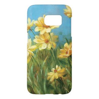 Coque Samsung Galaxy S7 Belles marguerites jaunes