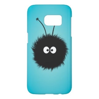 Coque Samsung Galaxy S7 Bleu brillé mignon d'insecte