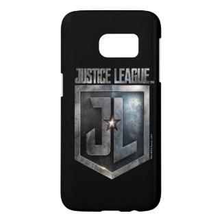 Coque Samsung Galaxy S7 Bouclier métallique de la ligue de justice | JL