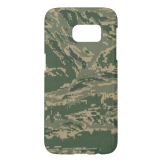 Coque Samsung Galaxy S7 Caisse verte militaire de la galaxie s7 des USA