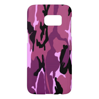 Coque Samsung Galaxy S7 Camo rose