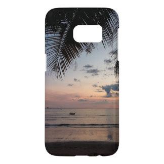 Coque Samsung Galaxy S7 Cas de téléphone de la galaxie S7 de paume et de