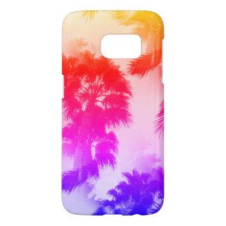 Coque Samsung Galaxy S7 Cas de téléphone de palmiers