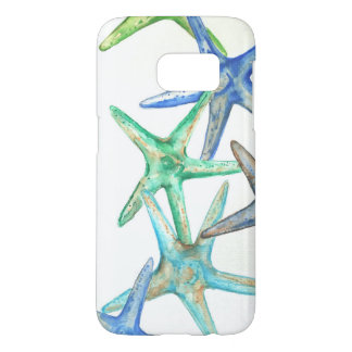 Coque Samsung Galaxy S7 Cas de téléphone d'étoiles de mer de la galaxie S7