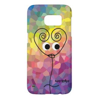 Coque Samsung Galaxy S7 Cas du téléphone de Norah