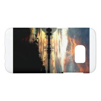 Coque Samsung Galaxy S7 Cas Samsung s7 de téléphone de coucher du soleil