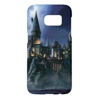 Coque Samsung Galaxy S7 Château | Hogwarts éclairé par la lune de Harry