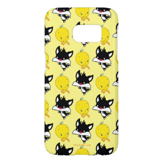 Coque Samsung Galaxy S7 Chibi SYLVESTER™ chassant TWEETY™