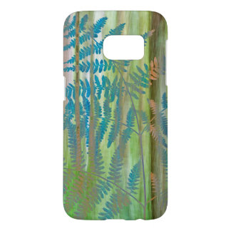 Coque Samsung Galaxy S7 Collage des fougères et de la forêt | Seabeck, WA