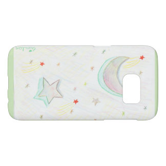 Coque Samsung Galaxy S7 colourful starry sky