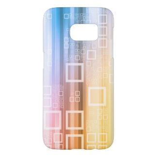 Coque Samsung Galaxy S7 Concept du trafic de train de données de données