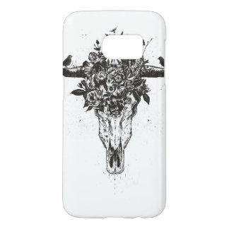 Coque Samsung Galaxy S7 Été mort (noir et blanc)
