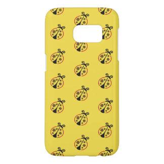Coque Samsung Galaxy S7 Fleur de coccinelle