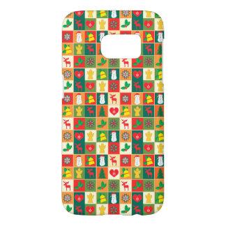 Coque Samsung Galaxy S7 Grand motif de Noël