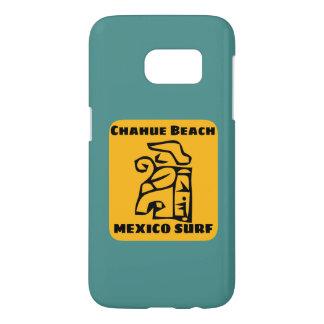 Coque Samsung Galaxy S7 Grand surf de plage de Chahue