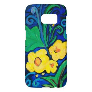Coque Samsung Galaxy S7 Île de LineA florale