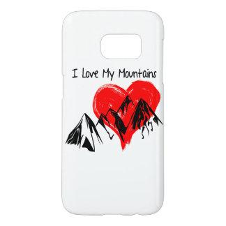 Coque Samsung Galaxy S7 J'aime mes montagnes !